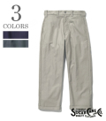 SUGAR CANE 8.5oz.MOUNTAIN CLOTH WORK PANTS