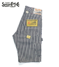 SUGAR CANE 11oz. HICKORY STRIPE WORK SHORTS