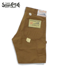 SUGAR CANE 13oz. BROWN DUCK WORK SHORTS