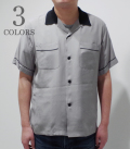 STYLE EYES TWO TONE BOWLING SHIRT