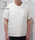 STYLE EYES PLAIN BOWLING SHIRT