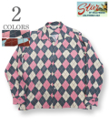 STAR OF HOLLYWOOD ARGYLE L/S OPEN SHIRT
