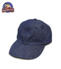 桃太郎ジーンズ DENIM BASEBALL CAP