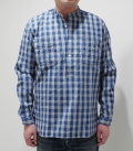 UNION SUPPLY PALAKA CHECK PULLOVER SHIRT