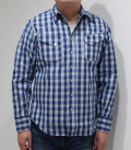 UNION SUPPLY PALAKA CHECK WESTERN SHIRT