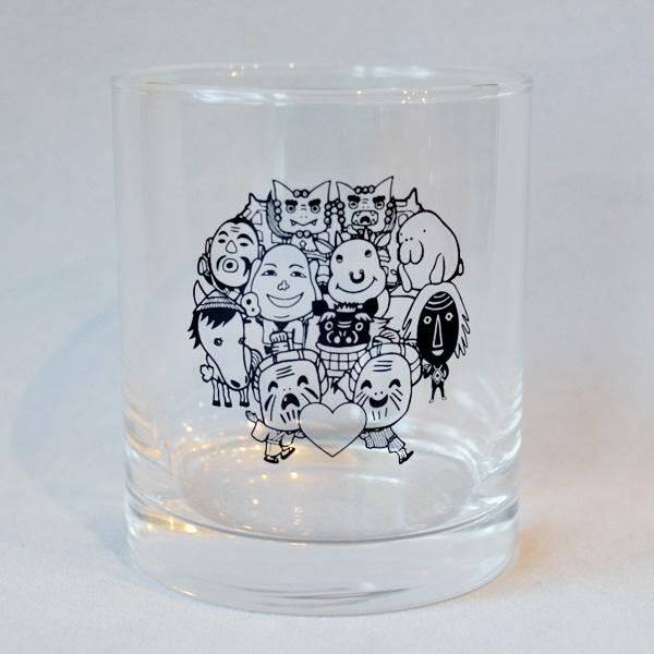 ロックグラス/キャラクター全員集合 【八重山諸島】