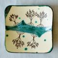 マングローブ皿 緑