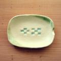 ミンサー柄小皿