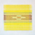草木染め手織ミンサーコースター #07