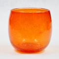 琉球ガラス/泡入・タル型 赤