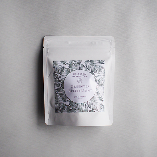 【夏季限定】水出しティー 緑茶&ペパーミント