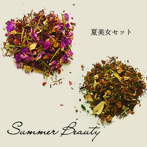 【送料無料】夏のすっきり!を叶える最強《夏美女セット》ティーバッグタイプ