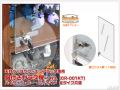 天井つっぱりフィギュアラック 専用オプション 鍵付き扉 (全タイプ兼用)
