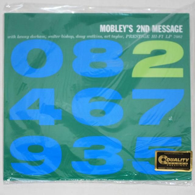 モブレーズ・セカンド・メッセージ/ハンク・モブレー(200g重量盤MONO/SPECIAL LIMITED EDITION)