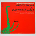 アット・カーネギーホール/マイルス・デイビス(中古LP)