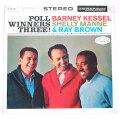 ポール・ウィナーズ・スリー3/バーニー・ケッセル、レイ・ブラウン、シェリー・マン(中古LP/見本盤)