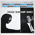 ピアノ・イースト・ウェスト/フレディ・レッド=ハンプトン・ホーズ(中古LP/US)