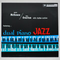 デイブ・マッケンナ&ハル・オバートン・デュアル・ピアノ・ジャズ(中古LP/ESP美盤)