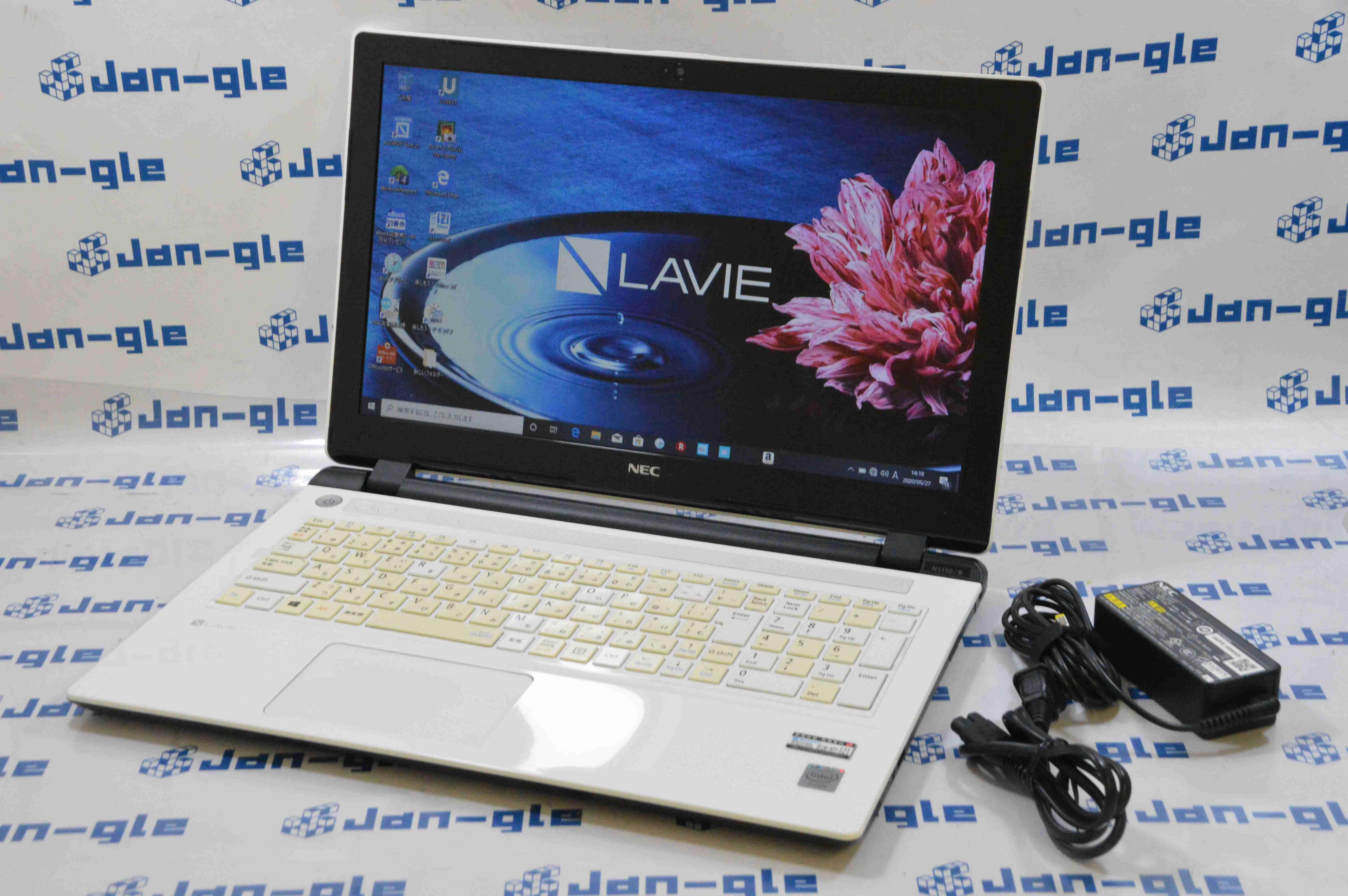 【KS】【中古】◇NEC LAVIE NS150/BAW PC-NS150BAW Windows10アップグレード済み!! J358725_G