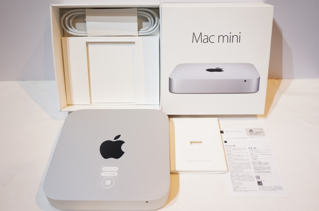 【北海道】【中古】Apple Mac mini Late2014 MGEM2J/A Core i5 4GB HDD500GB デスクトップパソコン