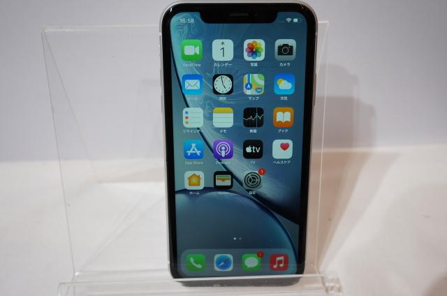 【北海道】【中古】【展示品】【○判定】Apple iPhone XR au 64GB  3D836J/A