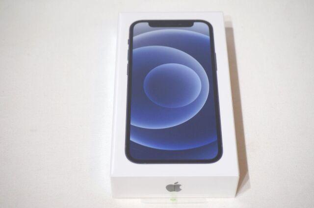 【北海道】【新古品】Apple iPhone 12mini  MGDJ3J/A Black 128GB SIMロックフリー