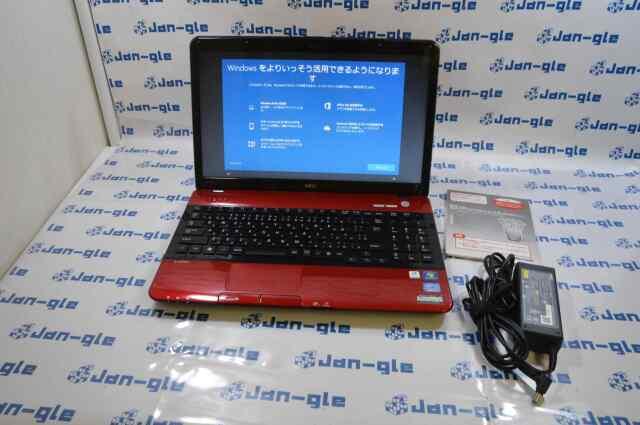 【KS】【中古】ΩNEC LaVie PC-LS550F23ER ノート パソコン SSD128ギガバイト換装済み!