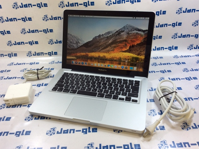 【KS】【中古】Intel Core i5 2.40GHz搭載PC MacBook Pro 2400 MD313J/A J360266 P ☆