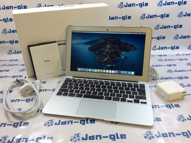 【KS】【中古】Intel Core i5 1.70GHz搭載PC MacBook Air MD223J/A J361362_Y ☆