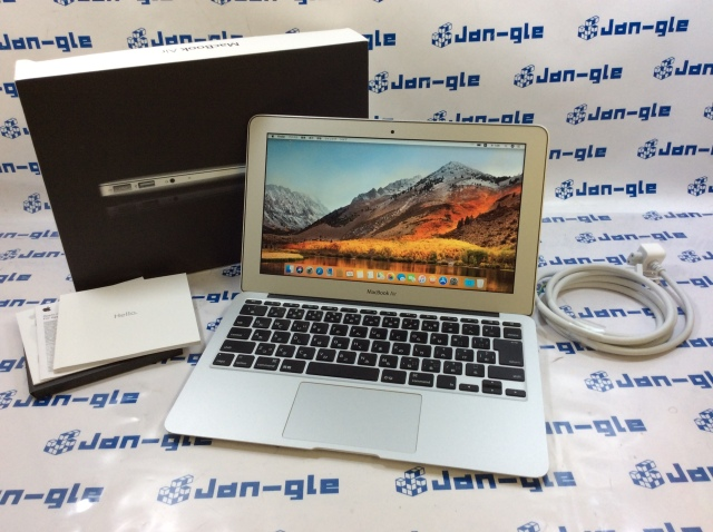 【KS】【中古】Intel Core i5 1.60GHz搭載PC! Apple MacBook Air 11.6インチ MC969J/A J361372_Y ☆