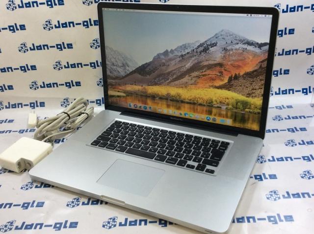 【KS】【中古】Intel Core i7 2.40GHz搭載PC! Apple MacBook Pro 17インチ MD311J/A J361551 ☆