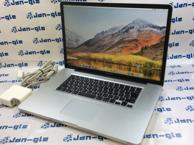 【KS】【中古】Intel Core i7 2.40GHz搭載PC! Apple MacBook Pro 17インチ MD311J/A J361551 ☆