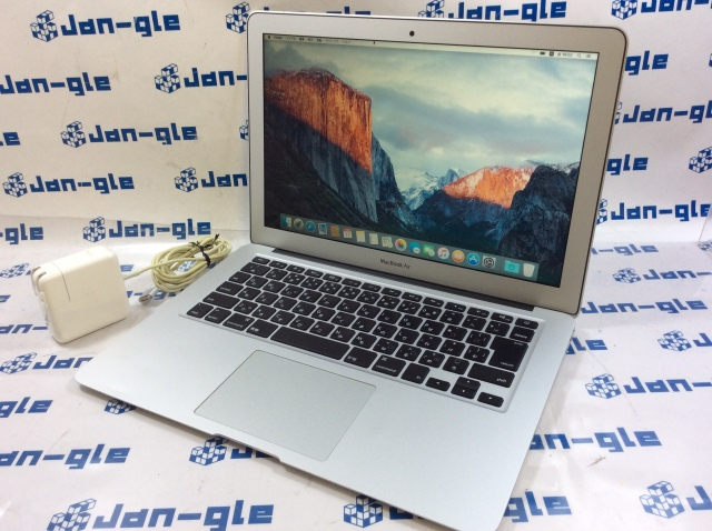 【KS】【中古】Intel Core i5 1.60GHz搭載PC! MacBook Air 13.3インチ MJVE2J/A J361618 ☆