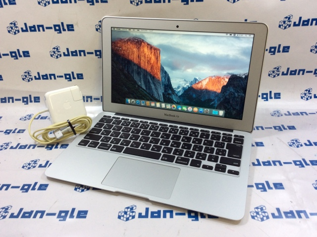 【KS】【中古】Core i5 5350U搭載PC!! Apple MacBook Air 1800/13.3 MQD32J/A CS015986_G ☆