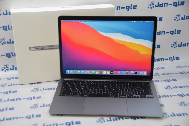 【KS】【中古】Apple MacBookAir カスタムモデル 13.3-inch Z124000E6 M1,2020 メモリ16GB SSD256GB J393116 G  ◆