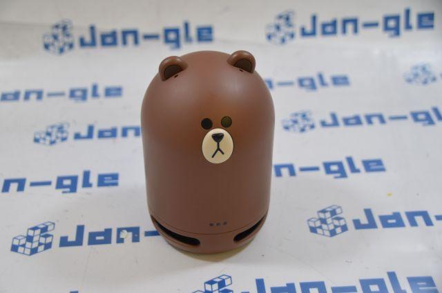 【KS】【中古】 Clova Friends mini [BROWN]スマートスピーカーR019775a10 P☆
