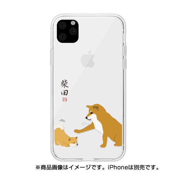 【KS】【新品】 abbi FRIENDS アビィフレンズ iPhone 11 Pro Max しばたさんクリアケース 子犬 ABF17116i65R ∞ R021614-Y