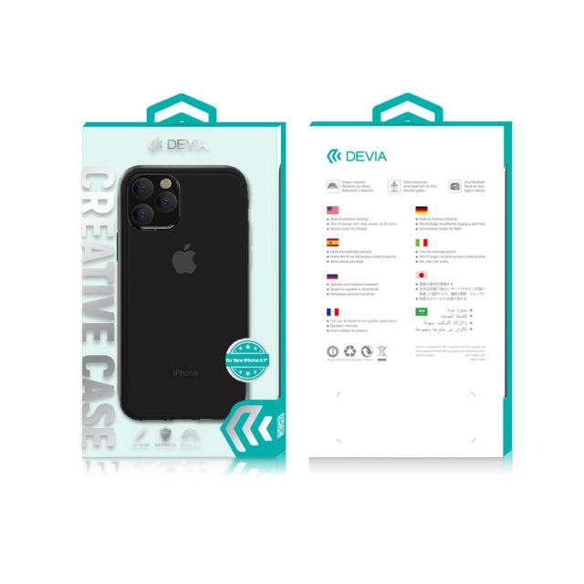 【KS】【新品】DEVIA iPhone11 Pro Shark4 Shockproof Case ブラック[BXDVCS2108] R021619◆
