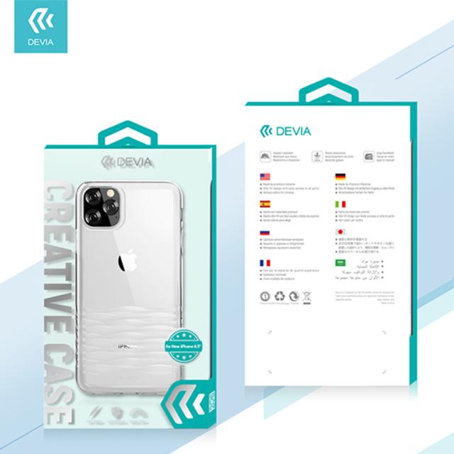 【KS】【新品】DEVIA iPhone11 Pro Ocean2 series クリアケース R021621◆