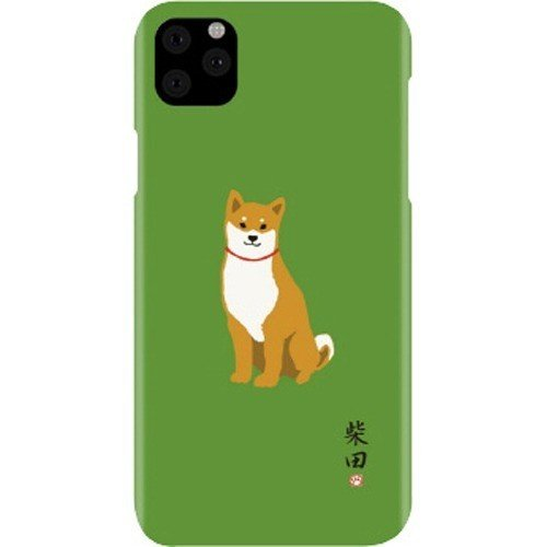 【KS】【新品】abbi FRIENDS iPhone11 Pro 柴田さん ケース グリーン [ABF17071i58R] R021630◆