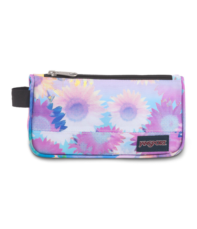 MEDIUM ACCESSORY POUCH - SUNFLOWER FIELD