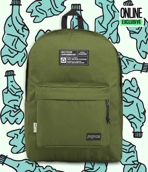 RECYCLED SUPERBREAK - NEW OLIVE