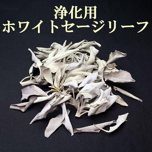 【浄化用】ホワイトセージリーフ 20g(f19900)