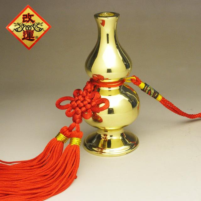 【改運】瓢箪の香炉(小) 銅製(f50070)