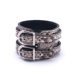 Snake W-rap Wristband - WH