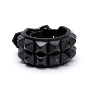 Pyramid Wristband (2L) - BK
