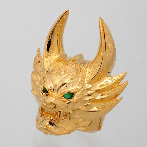 黄金騎士GAROリング Goldメッキ ver.