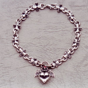 Barbara Iron Cross Bracelet