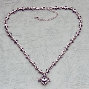 Barbara Iron Cross Pendant