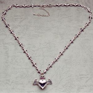 Holy Barbara Iron Cross Pendant